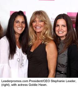 Goldie Hawn and Stephanie Leader