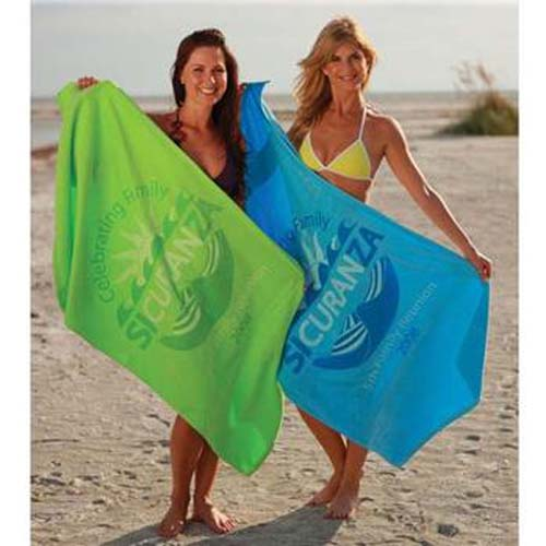 Jewel Collection Colored Beach Towel