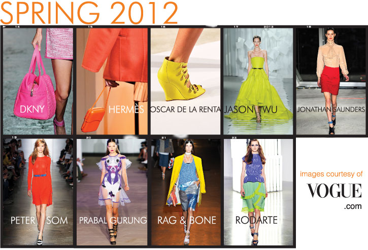 Spring 2012 Neon Trend