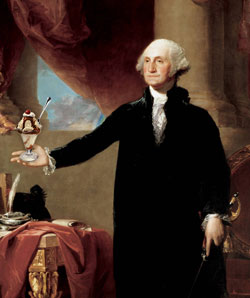 George Washington, ice cream lover