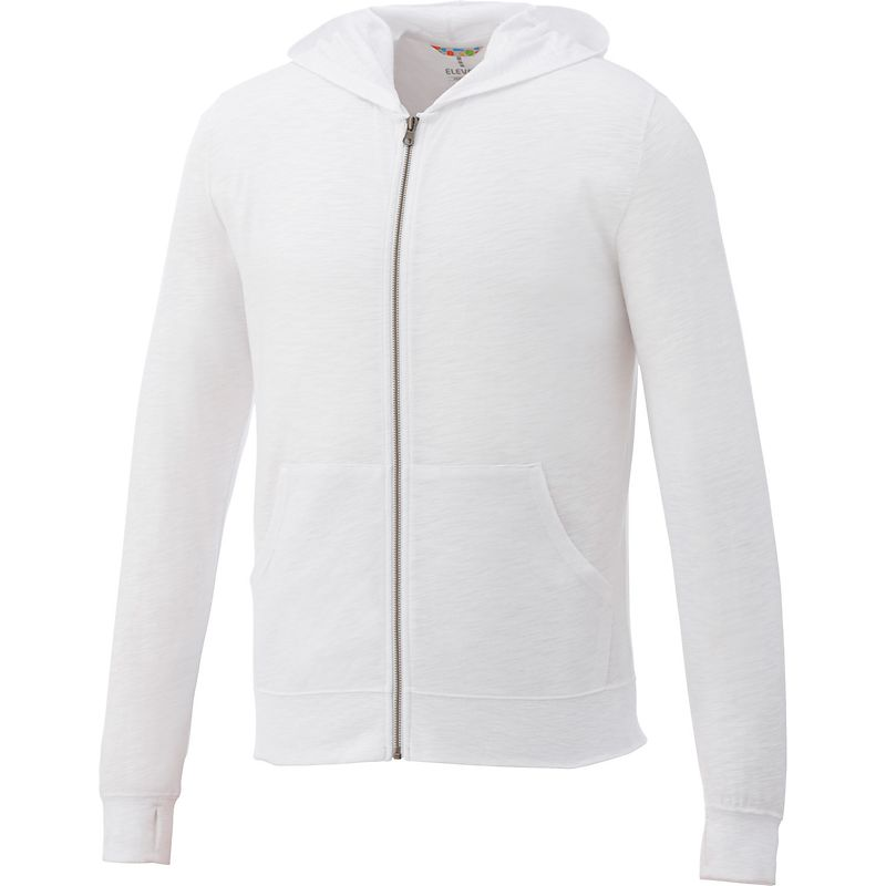 Garner Knit Full Zip Hoody - Men's | White