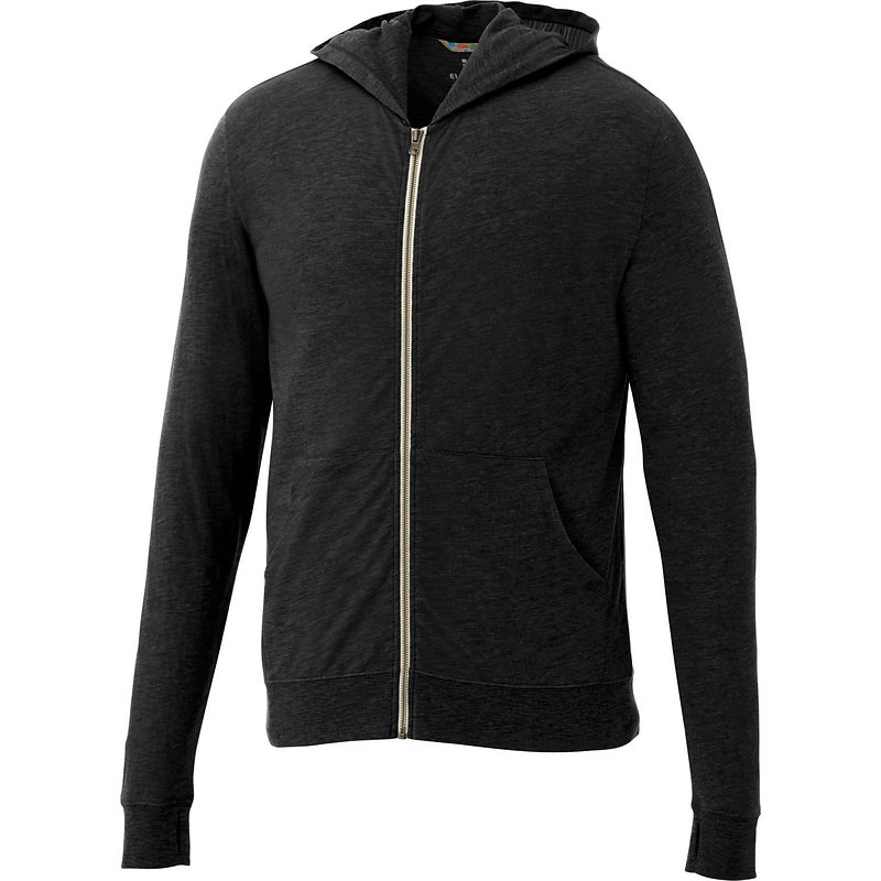 Garner Knit Full Zip Hoody - Men's | Black