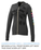 Garner Knit Full Zip Hoody - Women's | Heather Dark Charcoal - Decorated Image