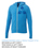 Garner Knit Full Zip Hoody - Women's | Olympic Blue Heather - Decorated Image