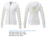Garner Knit Full Zip Hoody - Women's | White - Decorated Image