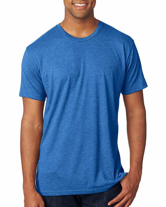 Next Level Men's Triblend Crew Tee
