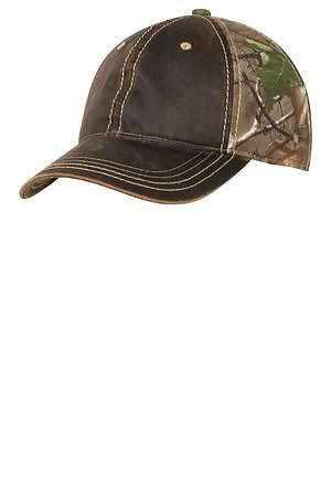 Port Authority Pigment-Dyed Camouflage Cap