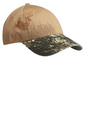 Port Authority Embroidered Camouflage Cap