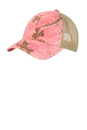 Port Authority Unstructured Camouflage Mesh Back Cap