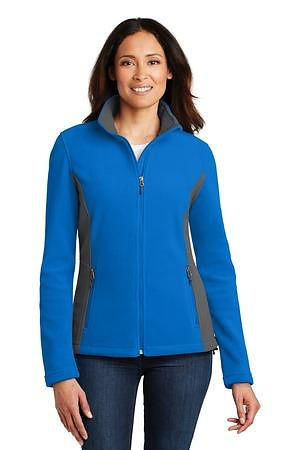 Port Authority Ladies Colorblock Value Fleece Jacket