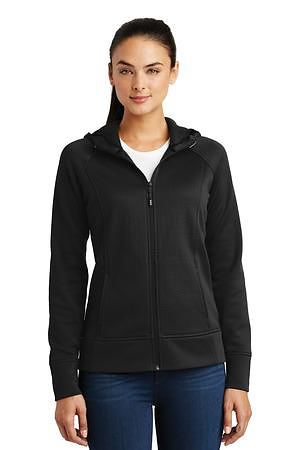 Sport-Tek Ladies Rival Tech Fleece Full-Zip Hooded Jacket