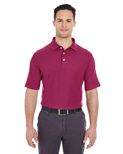 Men's Platinum Honeycomb Piqué Polo