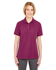 Ladies' Platinum Honeycomb Piqué Polo