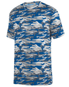 Adult Mod Camo Wicking Tee