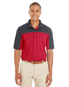 Men's Balance Colorblock Performance Piqué Polo