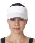 Adult Classic Cut Brushed Cotton Twill Sandwich Visor