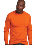 Adult Long-Sleeve Tee with Pocket