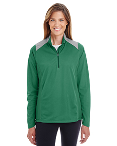 Ladies' Command Colorblock Snag-Protection Quarter-Zip