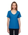 Ladies' 4.5 oz. X-Temp™ Performance V-Neck