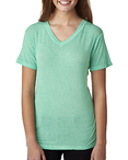 Ladies Oasis Wash V-Neck T-Shirt