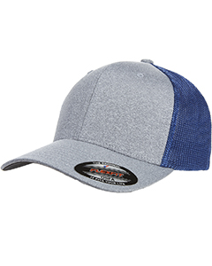 Adult Poly Mélange Stretch Mesh Cap