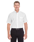 Men's Crown Collection™ Solid Broadcloth Short-Sleeve Shirt