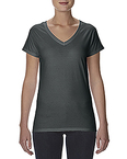 Lightweight Ladies' Fitted V-Neck Tee