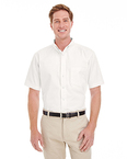 Men's Foundation 100% Cotton Short-Sleeve Twill Shirt Teflon™