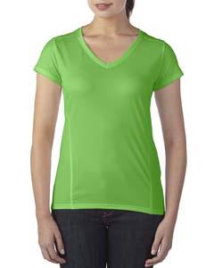 Ladies' Performance® 4.7 oz. V-Neck Tech T-Shirt