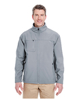 Adult Ripstop Soft Shell Jacket with Cadet Collar