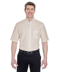 Men?s Classic Wrinkle-Resistant Short-Sleeve Oxford