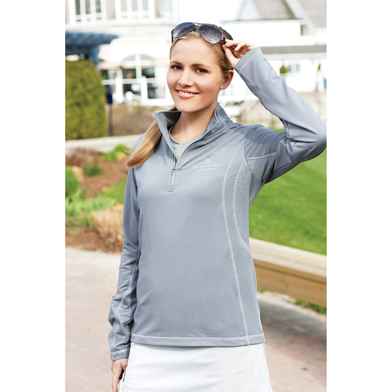Caltech Knit Quarter Zip - Women's