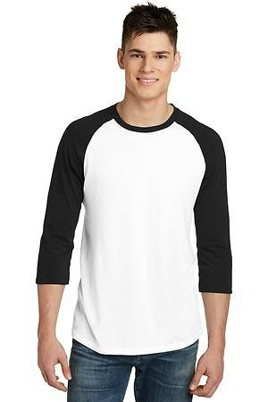 District Young Mens Very Important Tee 3/4-Sleeve Raglan