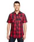 Mens Buffalo Plaid Woven Shirt