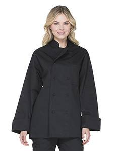 Unisex Classic Cloth Covered Button Coat