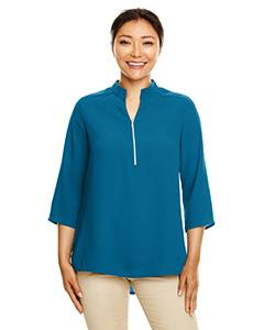 Perfect Fit™ Three-Quarter Sleeve Crepe Tunic