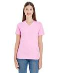 Ladies' Fine Jersey Short-Sleeve Classic V-Neck