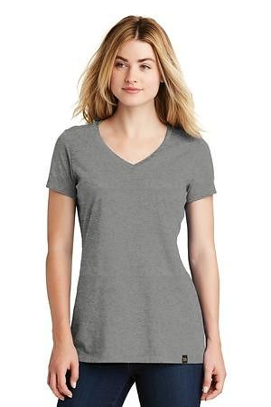 New Era  Ladies Heritage Blend V-Neck Tee