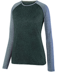 Ladies' Kinergy Two-Color Long-Sleeve Raglan T-Shirt
