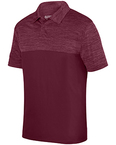 Adult Shadow Tonal Heather Polo