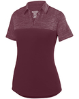 Ladies' Shadow Tonal Heather Polo
