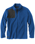 Men's 100% Polyester Nano Fleece TM 1/4 Zip Interval Pullover