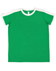 Youth Soccer Ringer Fine Jersey T-Shirt