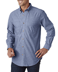 Men's Tall Yarn-Dyed Chambray Woven