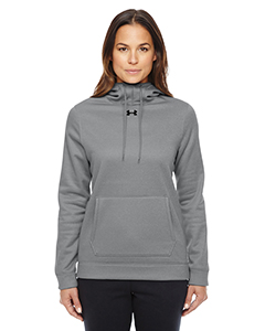 Under Armour - Ladies' Storm Armour Fleece Hoodie | TR GRAY HTHR _025