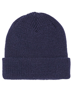 Ribbed Cuffed Knit Beanie