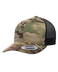 Retro Trucker Multicam Snapback