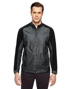 Men's Borough Lightweight Jacket with Laser Perforation