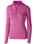 Ladies' Dry-Excel Electrify Performance Polyester Knit Half-Zip Training Pullover
