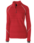 Ladies' Dry-Excel Bonded Polyester Deviate Pullover